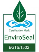 Pro-Care carries the EnviroSeal Certification Mark meaning Pro-Care uses low and zero VOC products that improve the performance and appearance of stone floors.